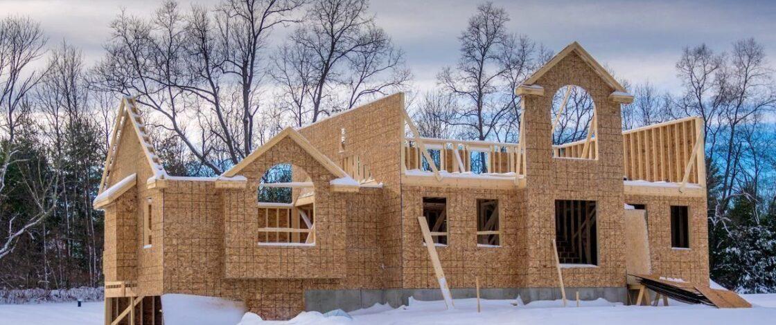 Пара слов о зимнем строительстве загородного дома