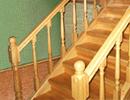 Деревянные лестницы: устройте интерьеру праздник