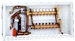 Регулирование температуры в системах водяного напольного отопления
