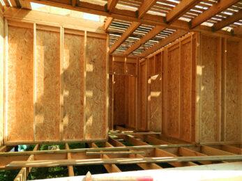 Каркасные деревянные стены