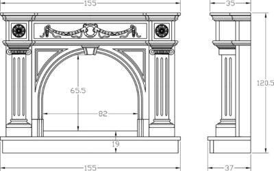 Типы и конструкции каминов