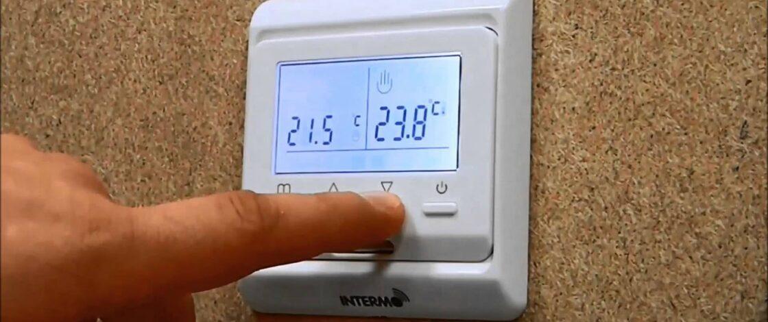 Использование терморегулятора