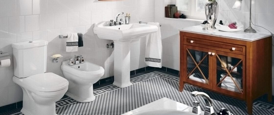 Различная сантехника для ванной комнаты